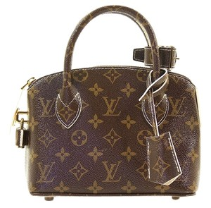 Louis Vuitton Lockit Lockit Satchel in Brown