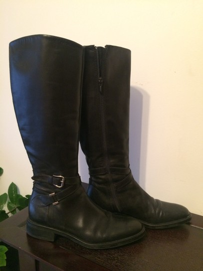 Goex black leather Boots Image 1