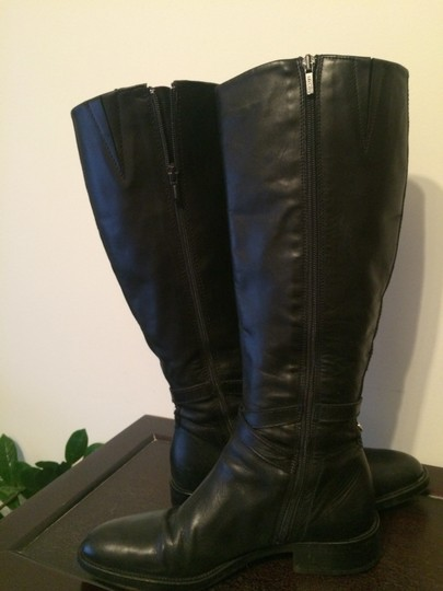 Goex black leather Boots Image 4