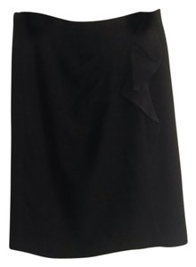 Tahari Ruffle Skirt black