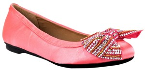 Penny Loves Kenny Fergie Fuchsia Satin Flats