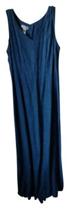 Denim blue jean color Maxi Dress by Jones New York