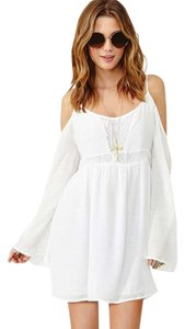 Honey Punch short dress White on Tradesy