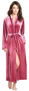 Cranberry Maxi Dress by Oscar de la Renta Velvet Robe Silk Robe