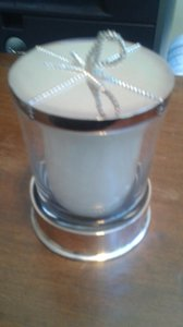 Silver Metal Candle Reception Decoration