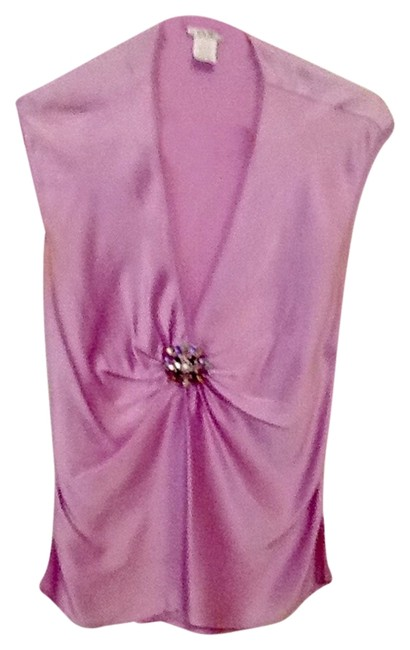Cache Orchid Jeweled Pin Blouse Size 10 (M) Cache Orchid Jeweled Pin Blouse Size 10 (M) Image 1