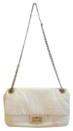 Preload https://item2.tradesy.com/images/chanel-255-reissue-perforated-flap-white-lambskin-leather-shoulder-bag-1129881-0-1.jpg?width=440&height=440