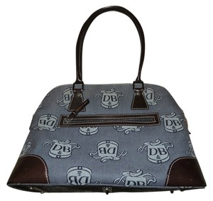 Dooney & Bourke Satchel in brown/gray