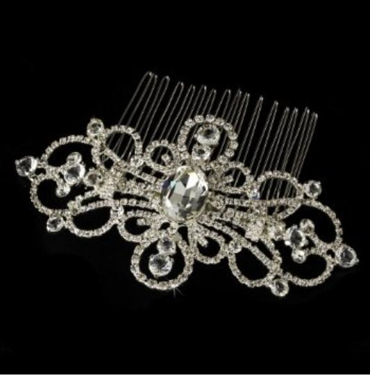 Preload https://item4.tradesy.com/images/silvef-gisella-couture-rhinestone-swirl-comb-hair-accessory-1130043-0-0.jpg?width=440&height=440
