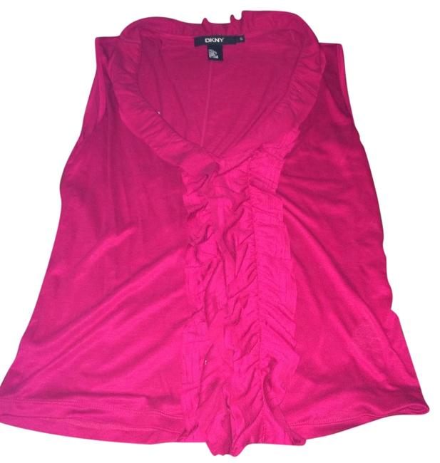 Preload https://item2.tradesy.com/images/dkny-pink-women-night-out-top-size-4-s-1130081-0-0.jpg?width=400&height=650