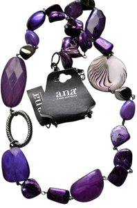 A.N.A. a new approach A.N.A Long Beaded Necklace