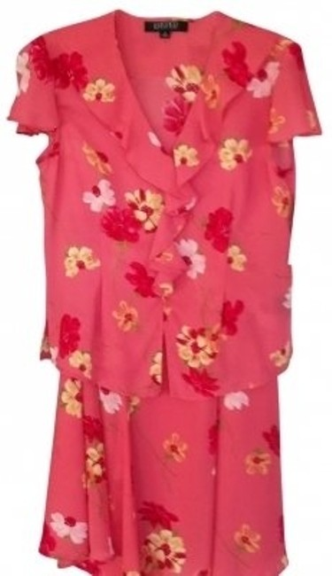 Preload https://item4.tradesy.com/images/kasper-coral-print-super-sale-on-2-piece-mid-length-workoffice-dress-size-12-l-113028-0-0.jpg?width=400&height=650