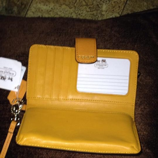 Coach Wallet Cell Phone Holder