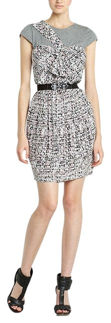 BCBGMAXAZRIA Belted Mini Night Out Dress Size 2 (XS) BCBGMAXAZRIA Belted Mini Night Out Dress Size 2 (XS) Image 1