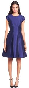 Kate Spade Fit And Flare Knee-length Cap Sleeve Dress