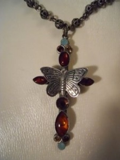 Mary Demarco Mary Demarco butterfly cross necklace