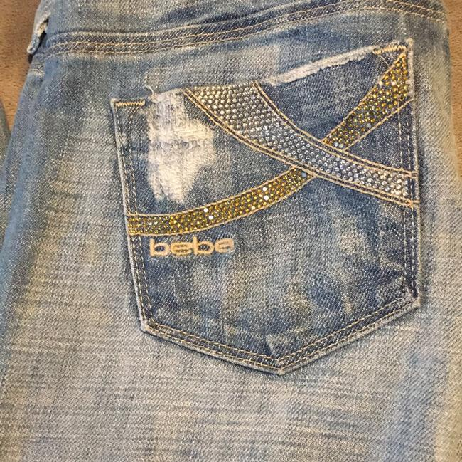 bebe Boot Cut Jeans Image 7