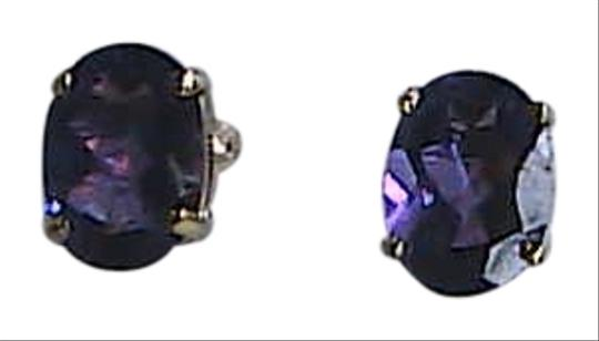 Preload https://item1.tradesy.com/images/unknown-10k-solid-yellow-gold-16-cts-oval-cut-amethyst-stud-earrings-1130680-0-0.jpg?width=440&height=440