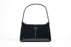 Tod's Tods Glossy Leather Shoulder Bag