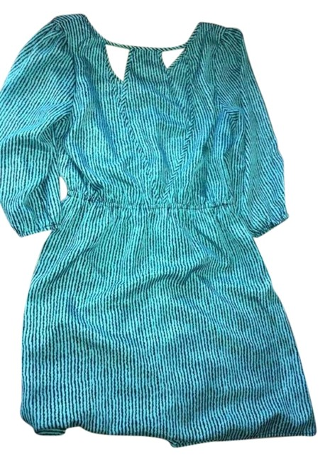 Preload https://item3.tradesy.com/images/teal-knee-length-night-out-dress-size-8-m-1130747-0-0.jpg?width=400&height=650