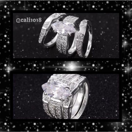 Other 3PC Stainless Steel Ring Set Image 1