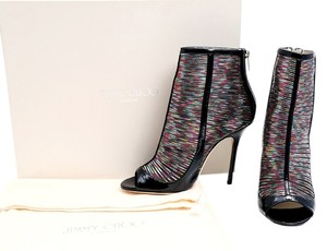 Jimmy Choo Hologram Rainbow Boots