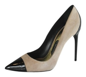 Tom Ford Nude Suede Multi color Pumps