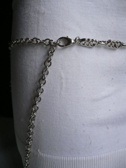 Alwaystyle4you Women Silver Metal Chains Thin Narrow Skinny Belt Hip Waist Image 6