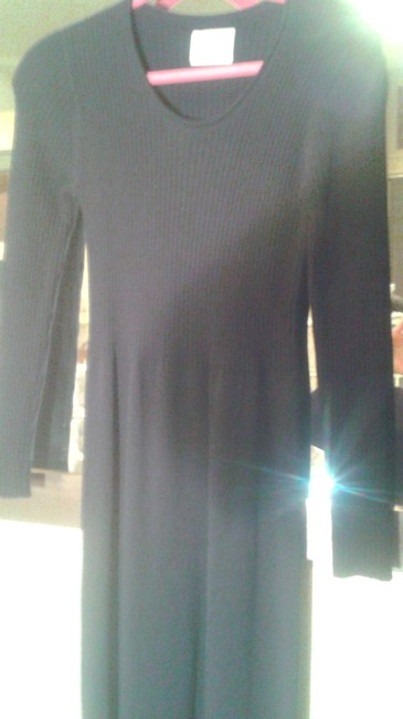 Preload https://img-static.tradesy.com/item/11308381/margaret-o-leary-black-knitted-long-workoffice-dress-size-8-m-0-1-650-650.jpg
