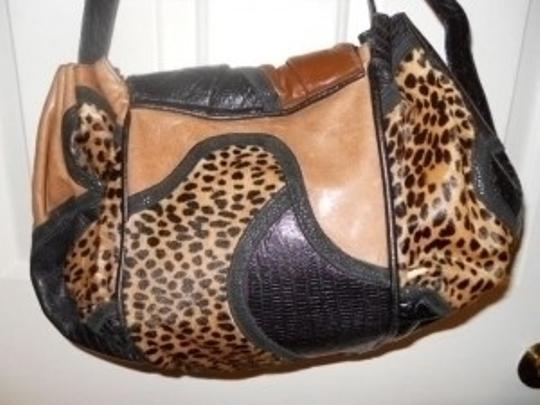 Sharif Vintage Leather Shoulder Bag