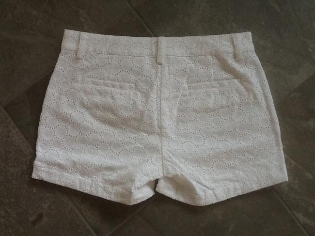 GARNET HILL Dress Shorts WHITE