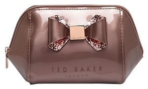 Ted Baker Ted Baker Small Trapeze Glitter Bow Cosmetic Case