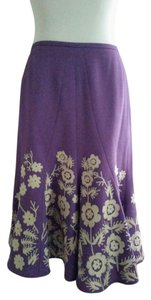 Nipon Boutique Skirt purple