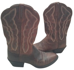 Ariat Brown and blue Boots