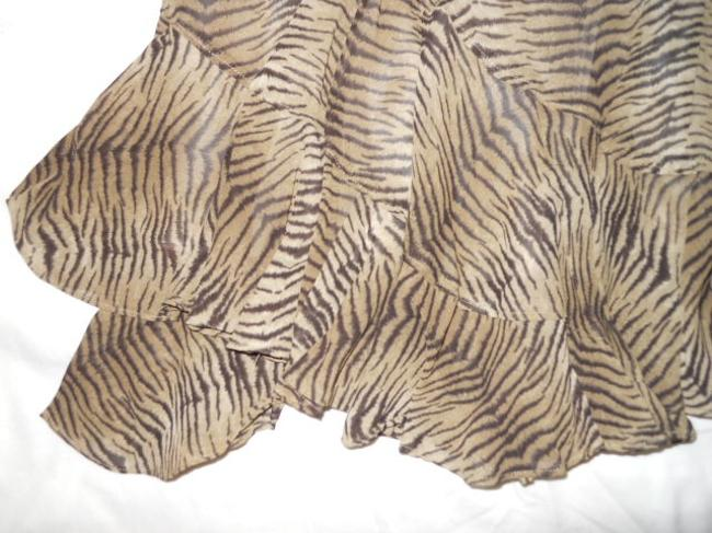 Liz Claiborne Skirt brown animal print