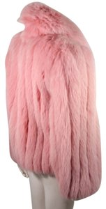 Fox fur coat (pink) Fur Coat