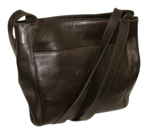 Aramis Leather Monogram Vintage Shoulder Bag