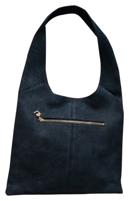 Item - Black Pebbled Suede Shoulder Bag