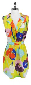 Collective Concepts short dress Yellow Tie Waist on Tradesy
