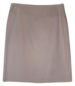 Tahari Striped Skirt Light Pink