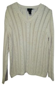 Lauren Ralph Lauren Xl Long Sleeve Cable Knit Sweater