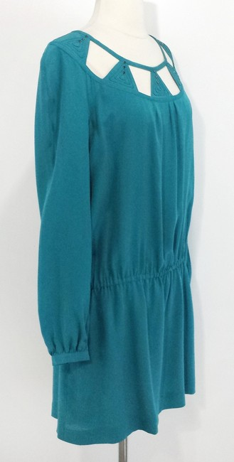 Leifsdottir short dress Teal Drop Waist on Tradesy