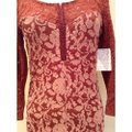 Free People Red Above Knee Short Casual Dress Size 8 (M) Free People Red Above Knee Short Casual Dress Size 8 (M) Image 2