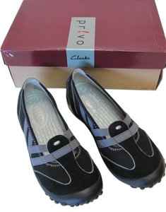 Privo Size 5.50m New Leather Excellent Condition Black, Gray Athletic