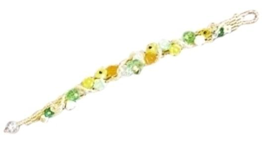 Unknown bracelet - glass flower beads
