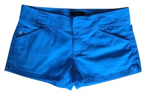 Express Summer Flap Pockets Mini/Short Shorts Turquoise