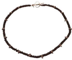Volcano Garnet Necklace