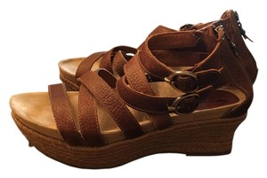 Earthies Brown Sandals