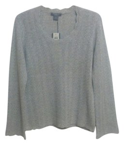 Ann Taylor Cashmere Metallic Sweater