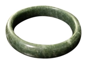 Dark Green Jade Bracelet